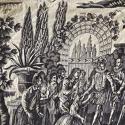 Purple Toile de Nantes Cotton Panel c.1805 - picture 9