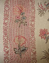 Pair of Floral Indienne Linen curtains French c.1880s - picture 6