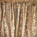 Pair of Floral Indienne Linen curtains French c.1880s - picture 8