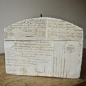 Customised antique  domed box - picture 2