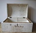 Customised antique  domed box - picture 4