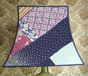Vintage Silk patchwork Pagoda  lampshade - picture 2