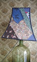 Vintage Silk patchwork Pagoda  lampshade - picture 5