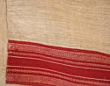Red striped hemp cover French 19th century - picture 4