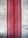 Red striped hemp cover French 19th century - picture 6