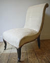 Napoleon III scroll back chair - picture 3