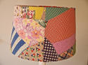 American Patchwork Vintage Feedsack Lampshade - picture 2