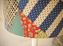 American Patchwork Vintage Feedsack Lampshade - picture 3