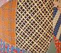 American Patchwork Vintage Feedsack Lampshade - picture 4
