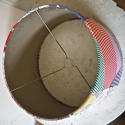 American Patchwork Vintage Feedsack Lampshade - picture 6