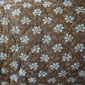 Pale Blue Floral Cushion French Antique - picture 2