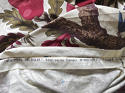 Pair of Exotic Flowers cotton curtains antique French - picture 3