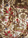 Pair of Exotic Flowers cotton curtains antique French - picture 4