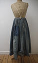 Indigo Cotton Patched Jupon 19th century French - picture 1
