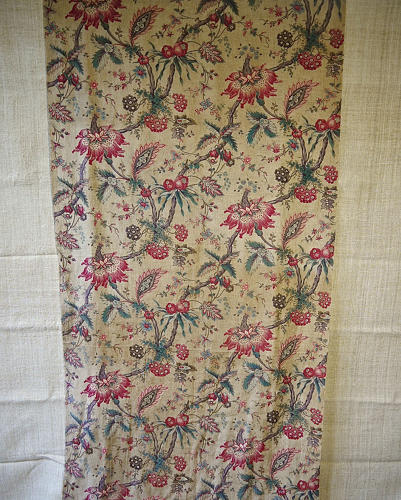 Indienne Exotic Flowers Cotton panel