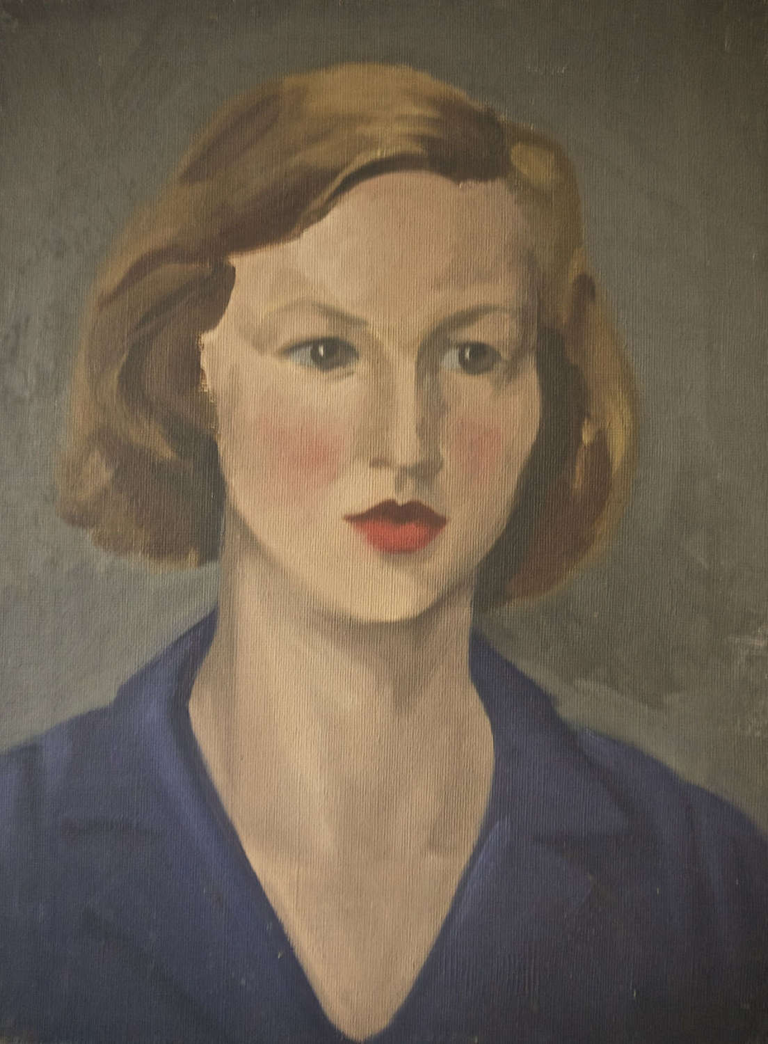 Portait of a Young Woman English 20th Century