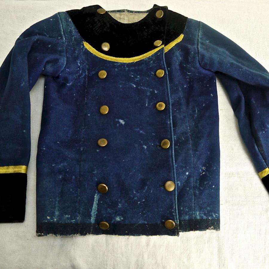 Childs's Folk Costume Wool Jacket French 19thC