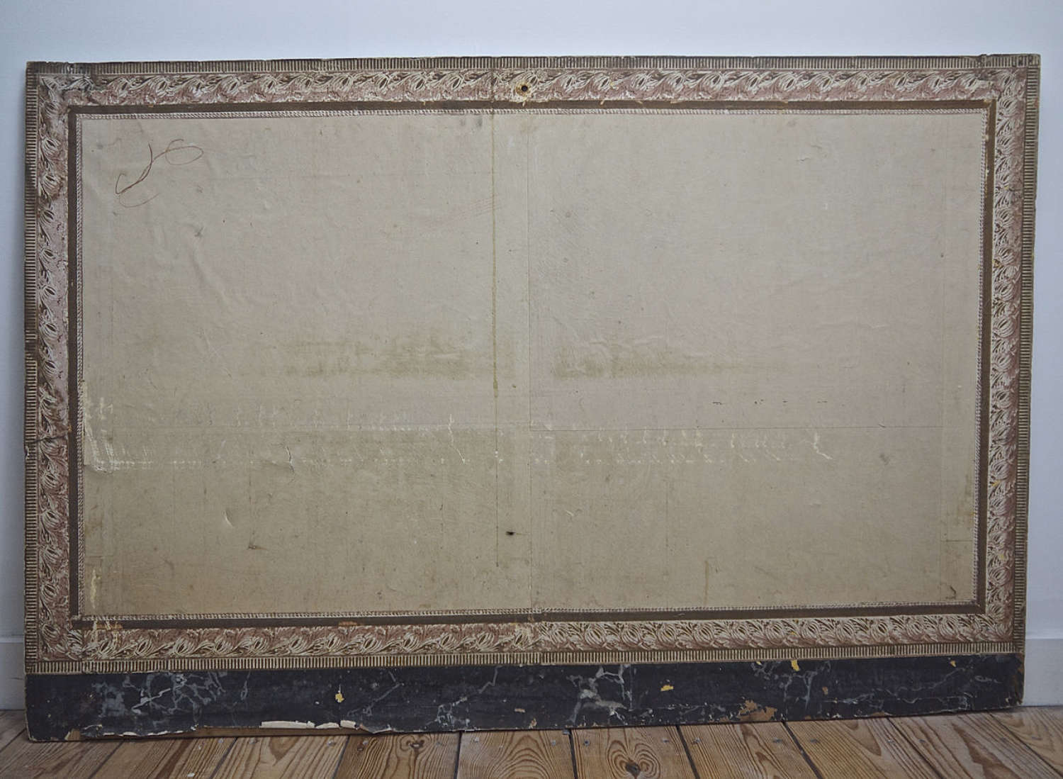 Papier Peint Fire Board French Early 19th Century