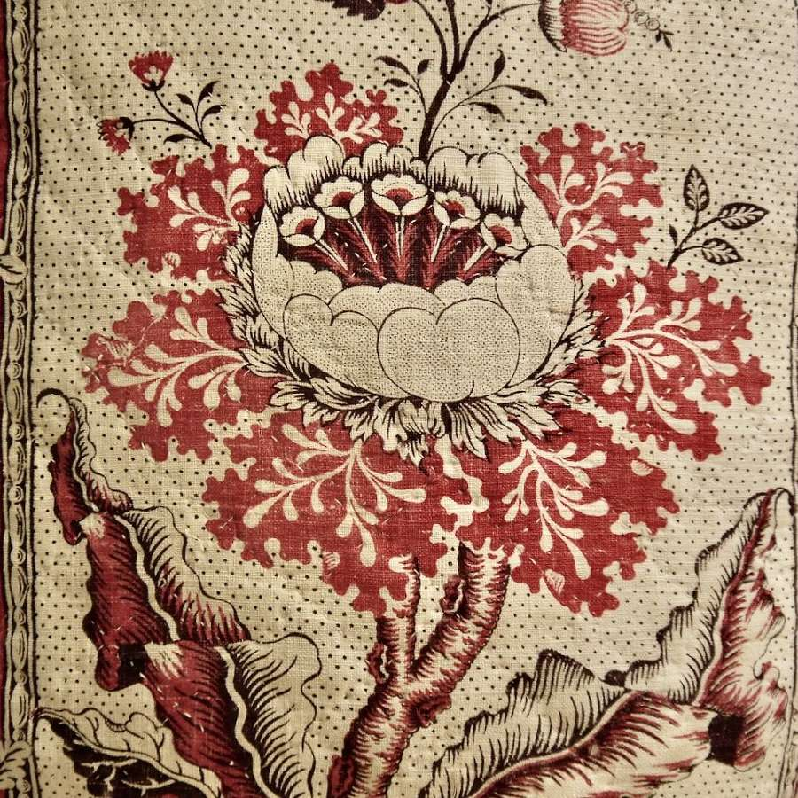 Toile de Beautiran Cushion French 18th Century