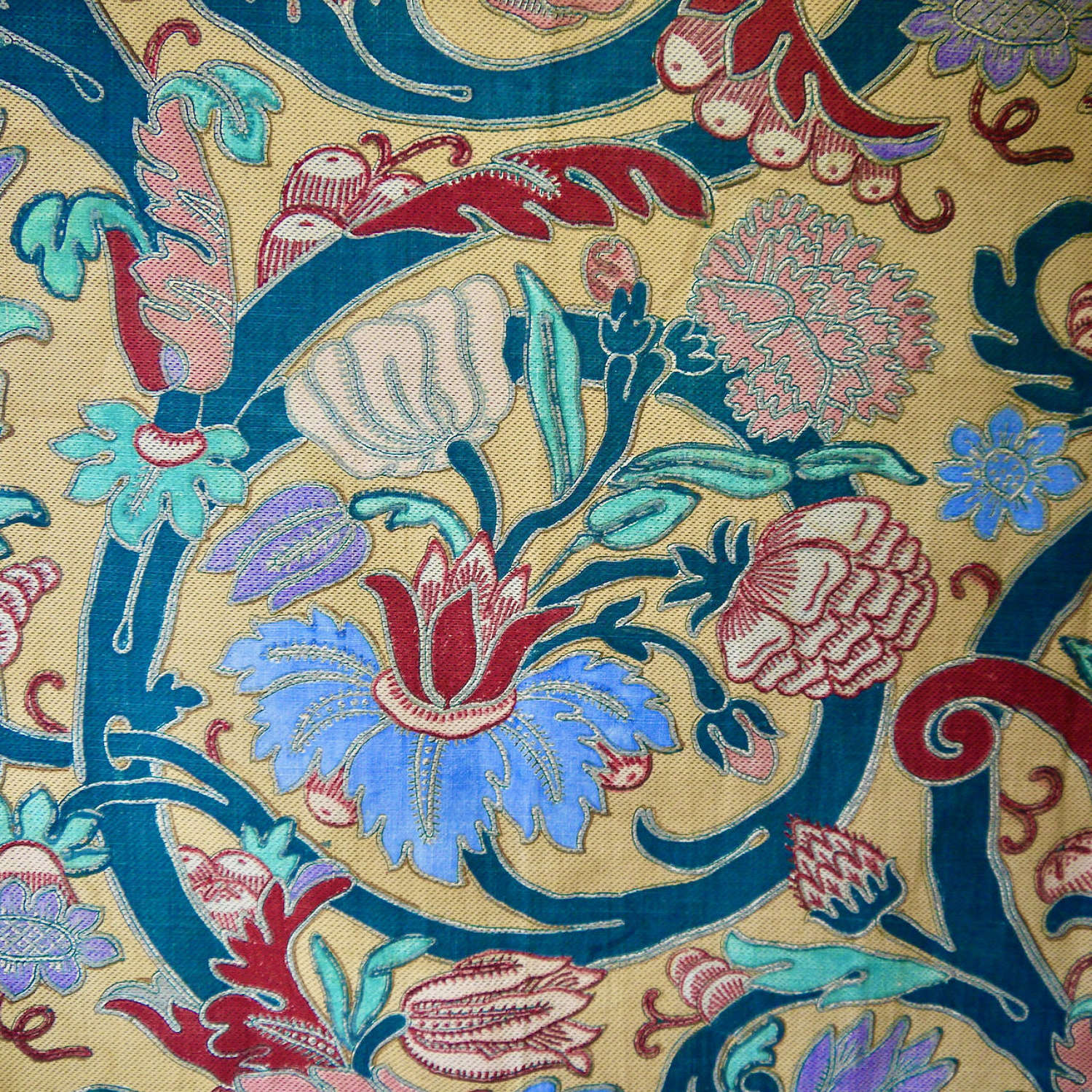 Arabesque Large Scale Design Cotton Panel French