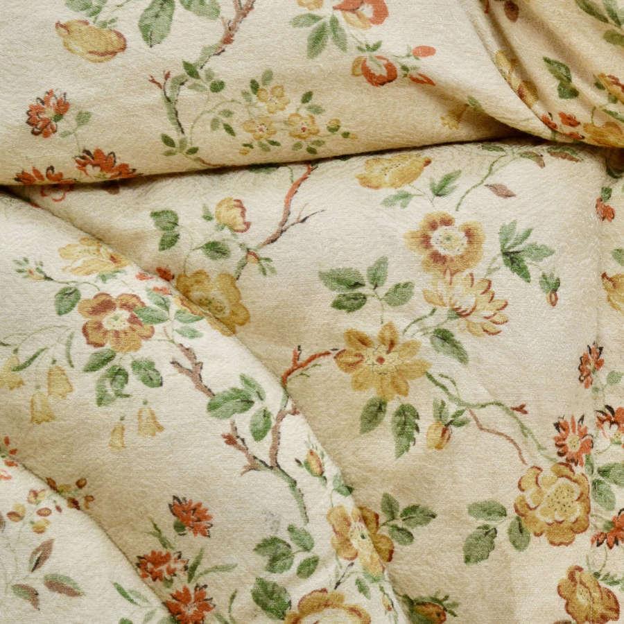 Pair of  Vintage Floral Eiderdowns English