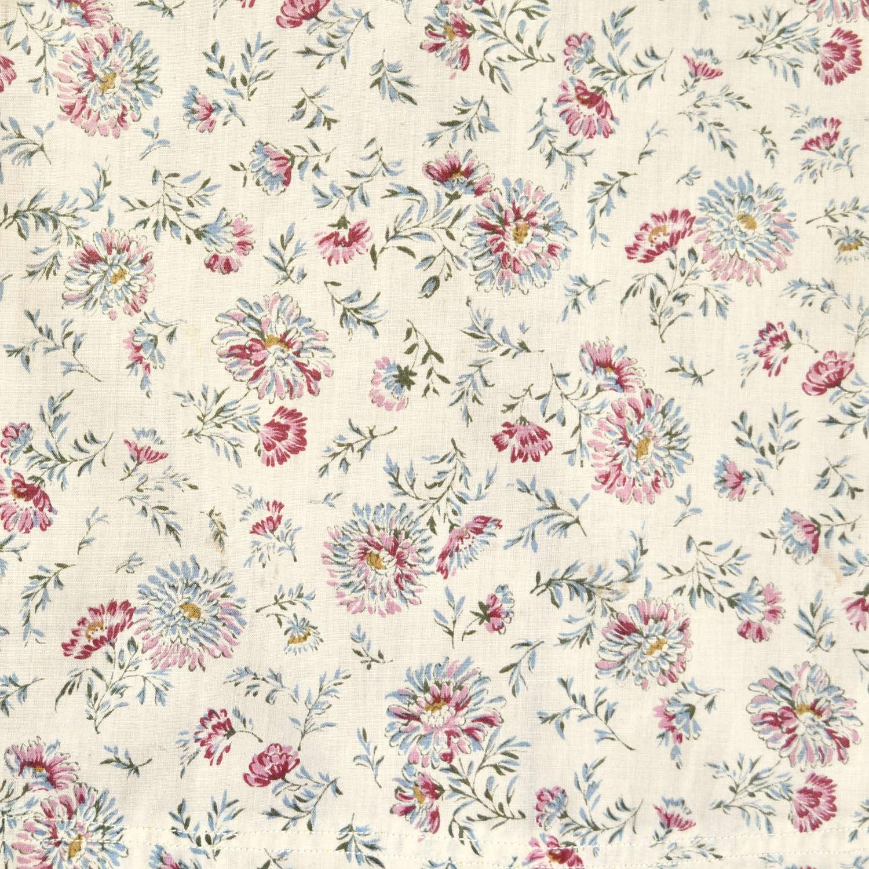 Pretty Floral Single Curtain English 20th Century