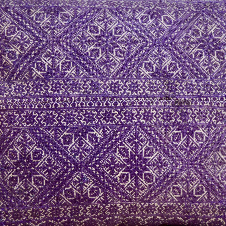 Purple Fez Cushion Moroccan Late 19th Century